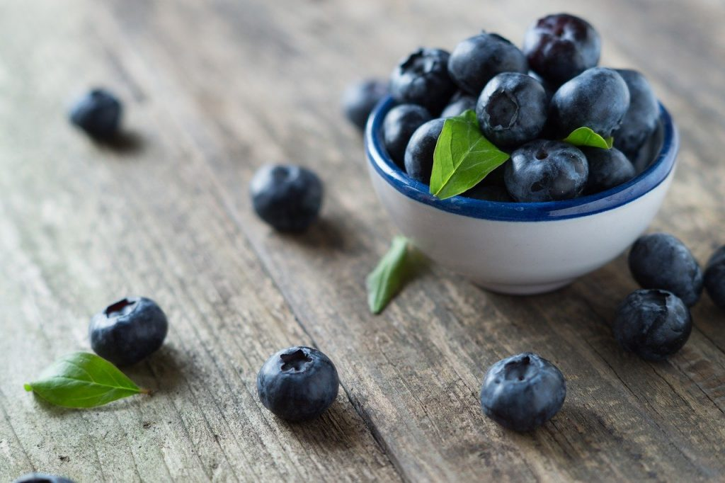 blueberries, health, vitamins