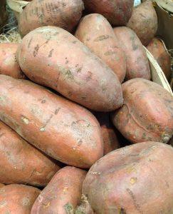 vegetables, sweet potatoes, vegetable garden