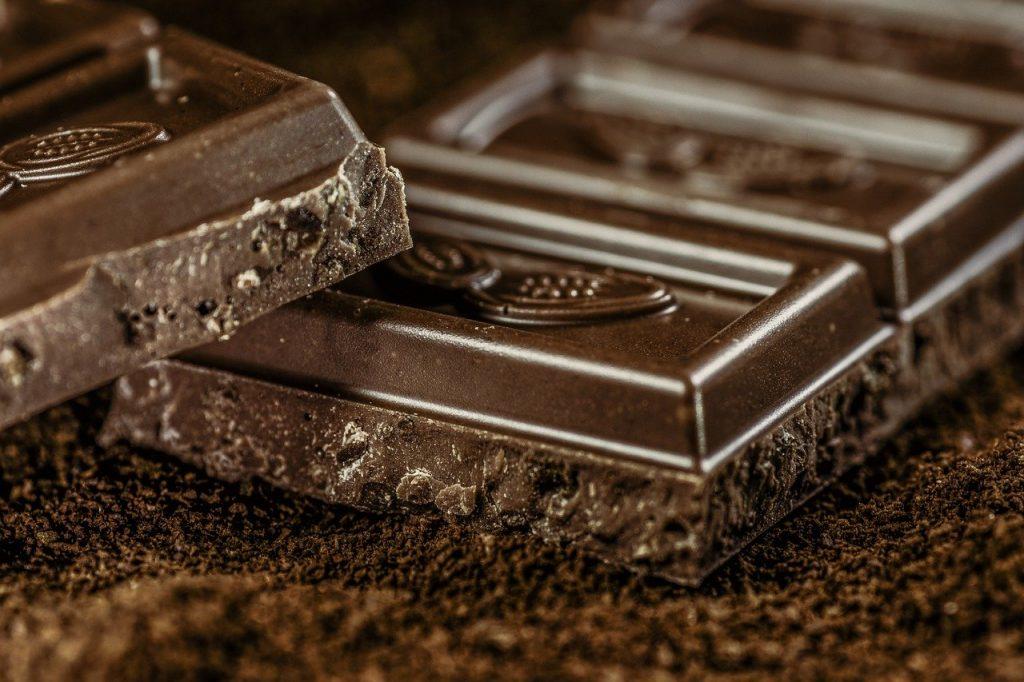 chocolate, dark, coffee