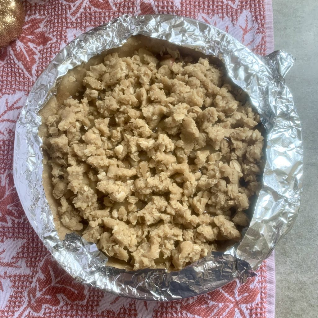 Tented Pie crust